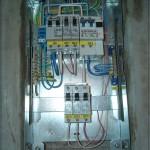 Электрический щиток в новостройке (от застройщика)