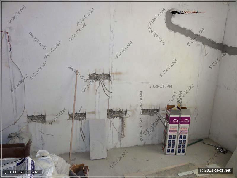 стена панельного дома