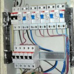Щиток квартирной электрики, собранный на ДИФах ABB