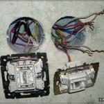 Выключатели в процессе прозвонки (пропал свет)