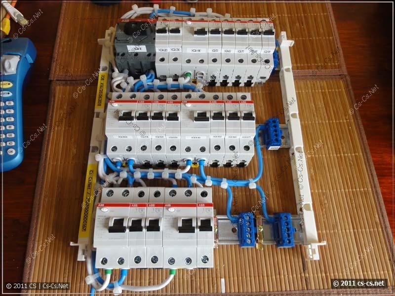 Проектирование начинки электрического щитка (продолжение  сборка ... cfeddb25ab075