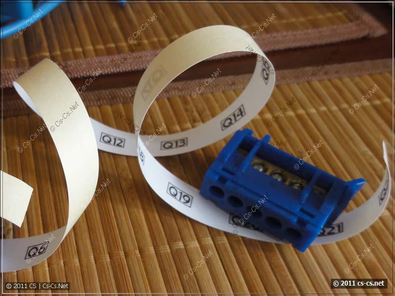 Подготовка к сборке щитка: печатаем маркировочные этикетки