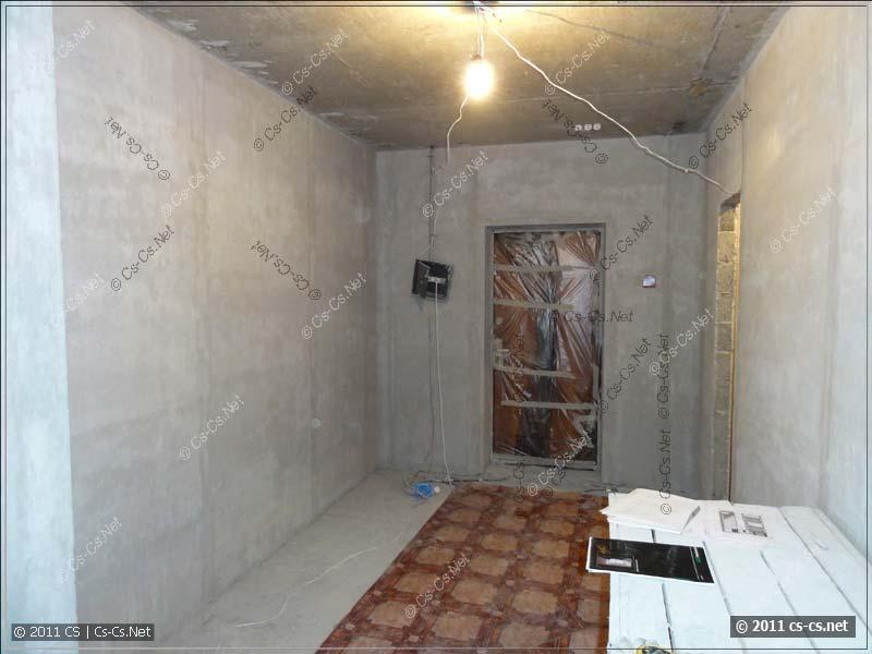 Квартира внутри перед штроблением