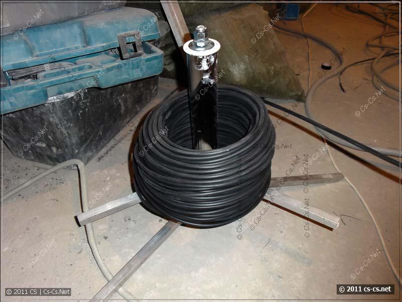 CabRoller (CS): Устройство для размотки кабелей (моя разработка)
