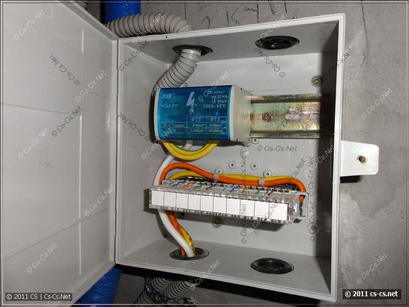Коробка KR-INBOX-30-NK в качестве сантехнической