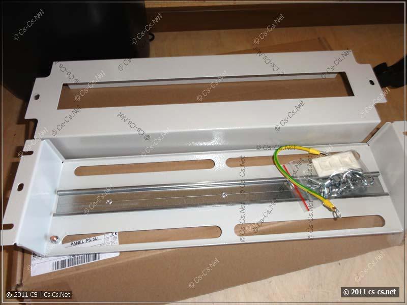 """Модуль ZPAS PS-3U для монтажа DIN-рейки в шкаф 19"""""""