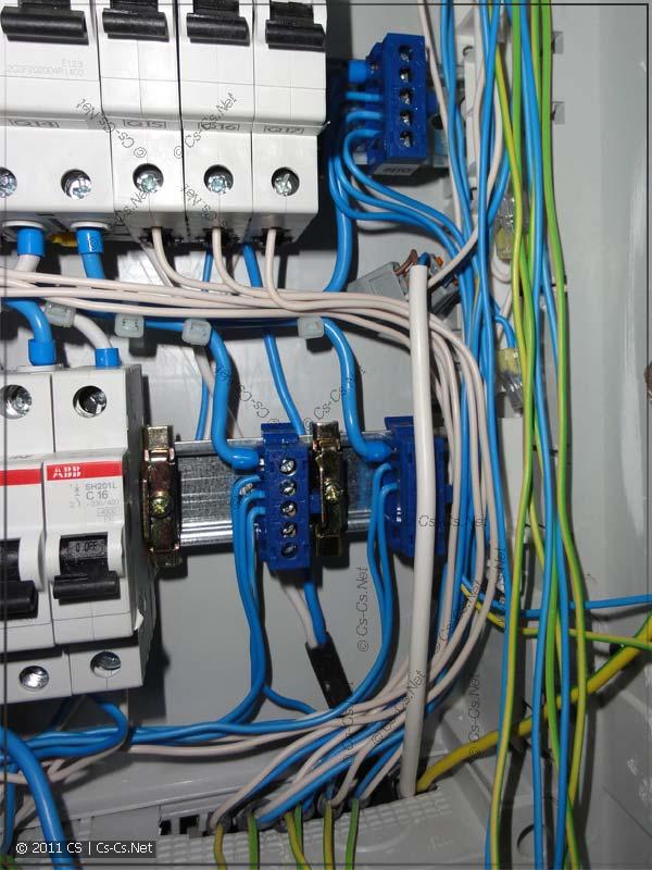 Короткие кабели приходится наращивать на WAGO