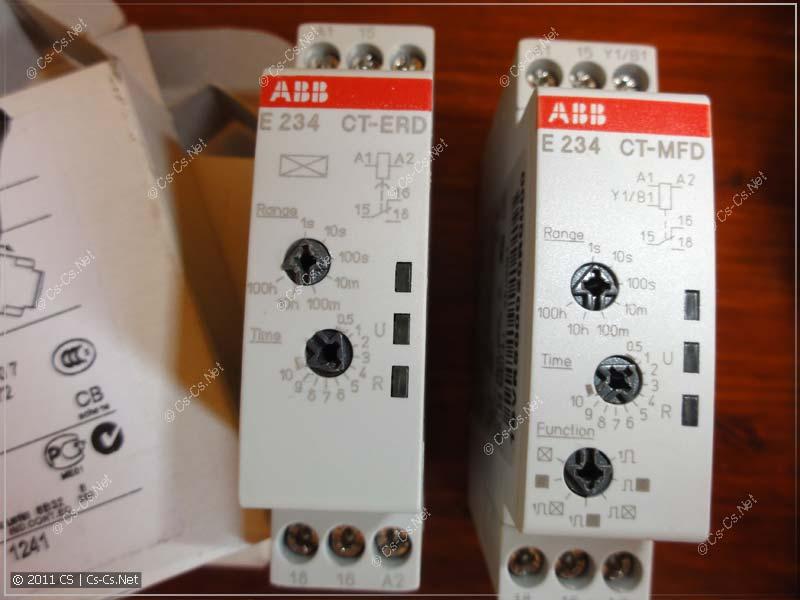 Реле времени E234 (ABB)