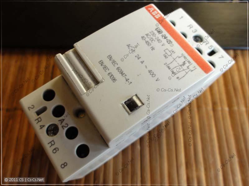 Контактор ABB серии ESB (на DIN-рейку)