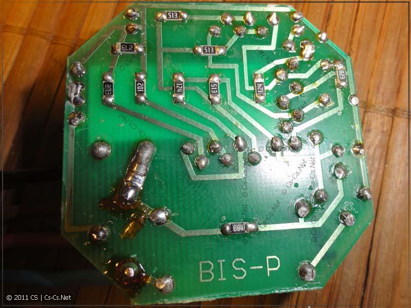 Печатная плата импульсного реле F&F BIS402