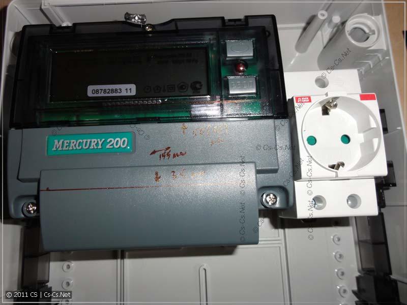 Счётчики Меркурий 200 не соответствуют габаритам стандартного щитка