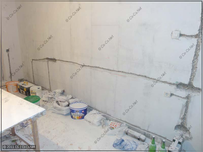 стен в панельном доме