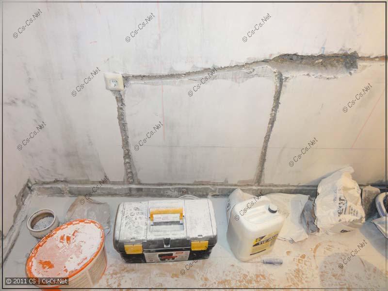 несущих стен в панельном