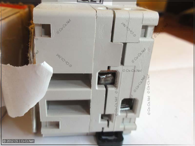 Стандартная болезнь DS 941: расходится корпус
