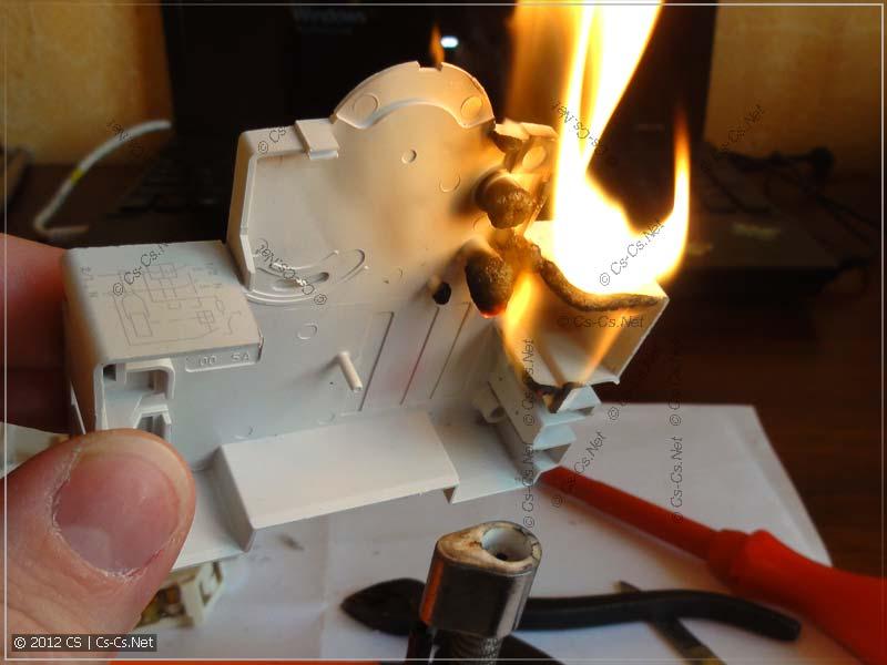 В пламени горелки корпус горит гораздо эффектнее (1)