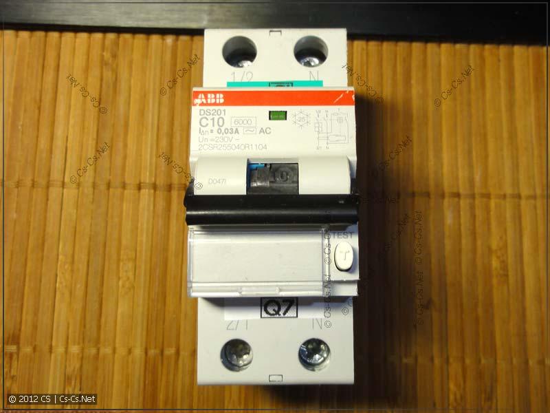 Дифавтоматы ABB DS201 / DS202C