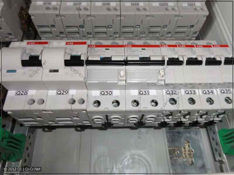 Старые дифавтоматы (DS900) по сравнению с новыми
