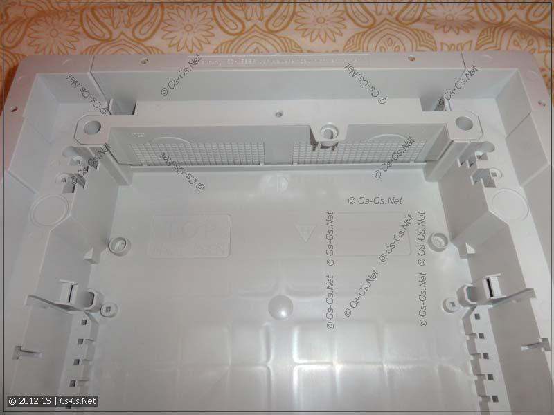 Прорезаемые съёмные кабельные вводы в щиток
