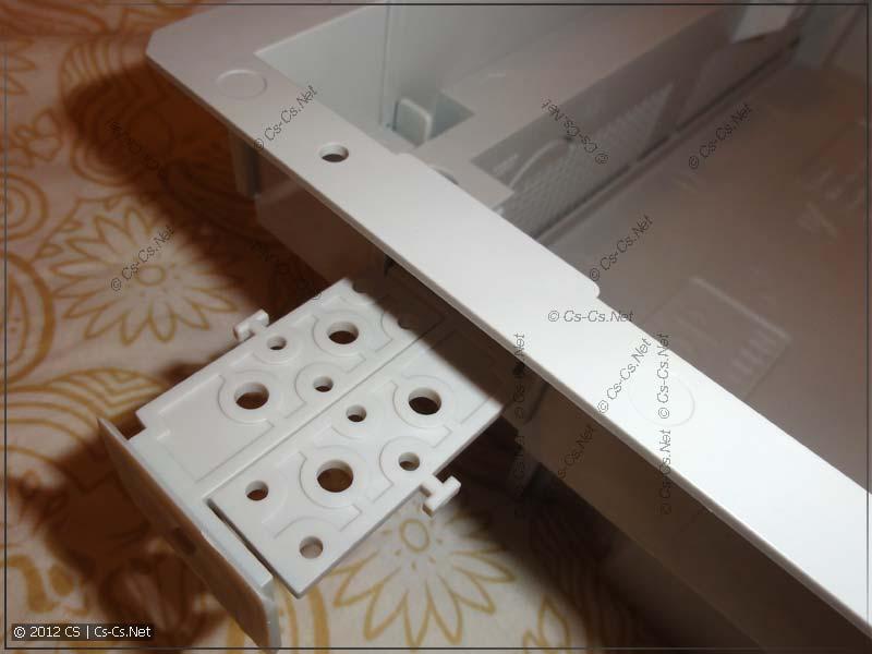 Набор для фиксации щита UZ4P2 (не разрезаный) и его крепление