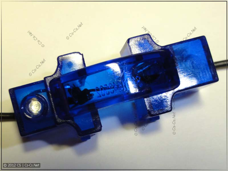 Лампы подсветки UNICA MGU0.822.AZL: вид сверху