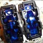 Новые лампы (UNICA MGU0.822.AZL) в двухклавишной кнопке