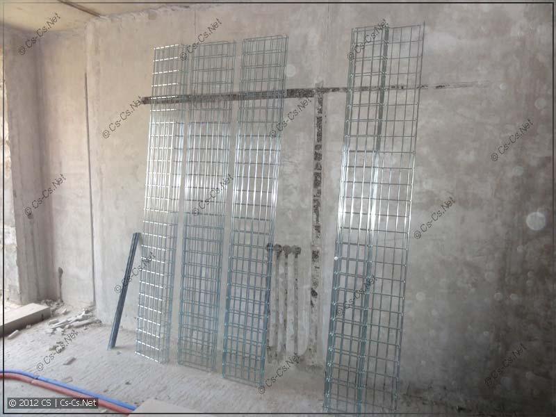 Комплект лотков DEFEM для прокладки трасс по потолку