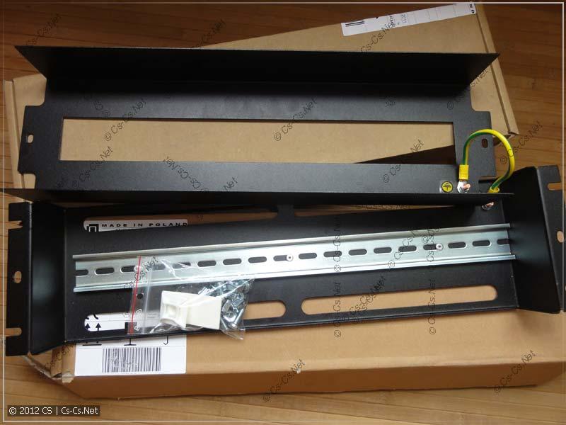 Панель ZPAS PS-3U в чёрном цвете
