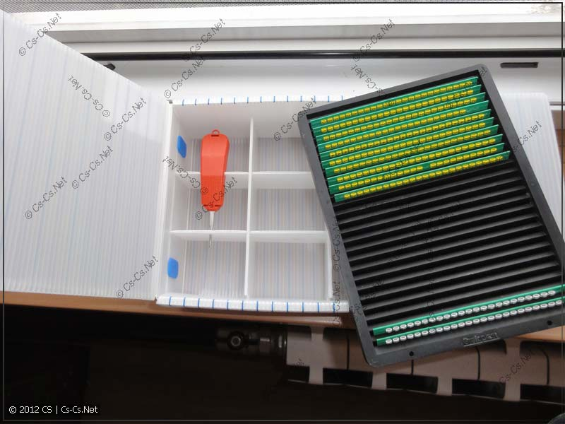 Набор 003 MicroKit для хранения элементов маркировки
