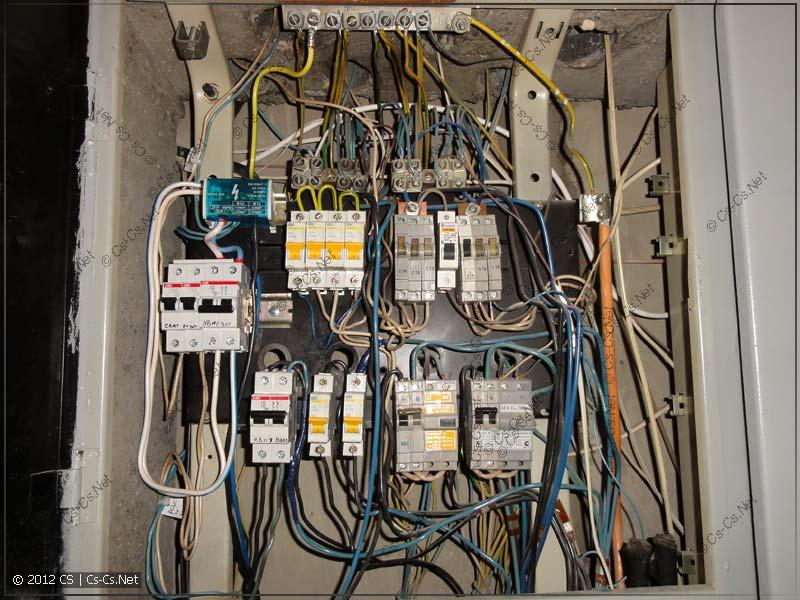 дикий электрощит укладка провода в щите киски