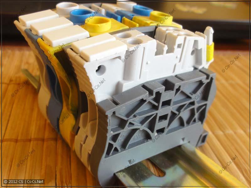 Торцевой фиксатор BAZ1 (имеет металлический экран)
