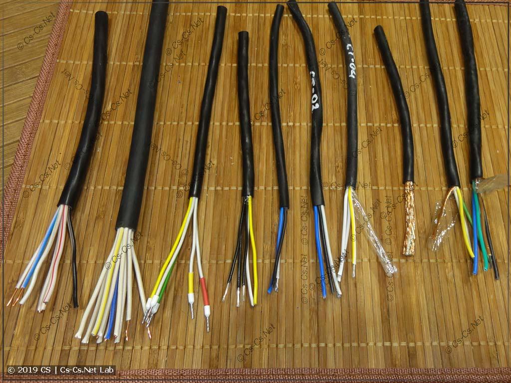 Многожильные сигнальные и контрольные кабели: КВВГ, МКШ, МКЭШ