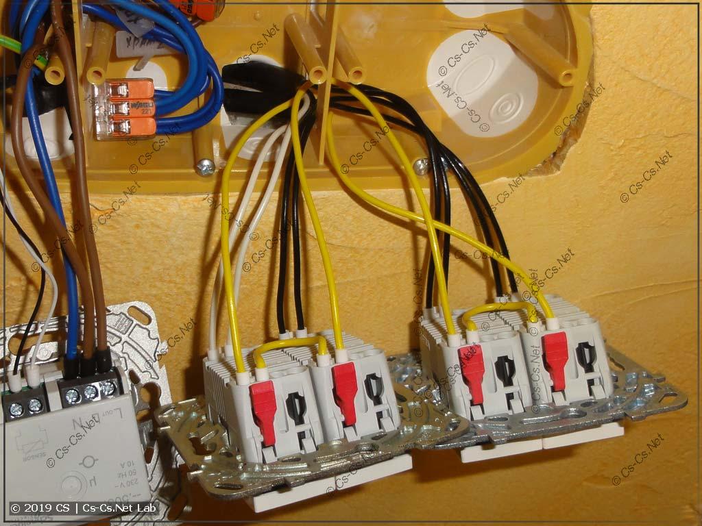 Применение кабелей МКШ для расключения кнопок управления светом по квартире (через импульсные реле / ПЛК / Logo)