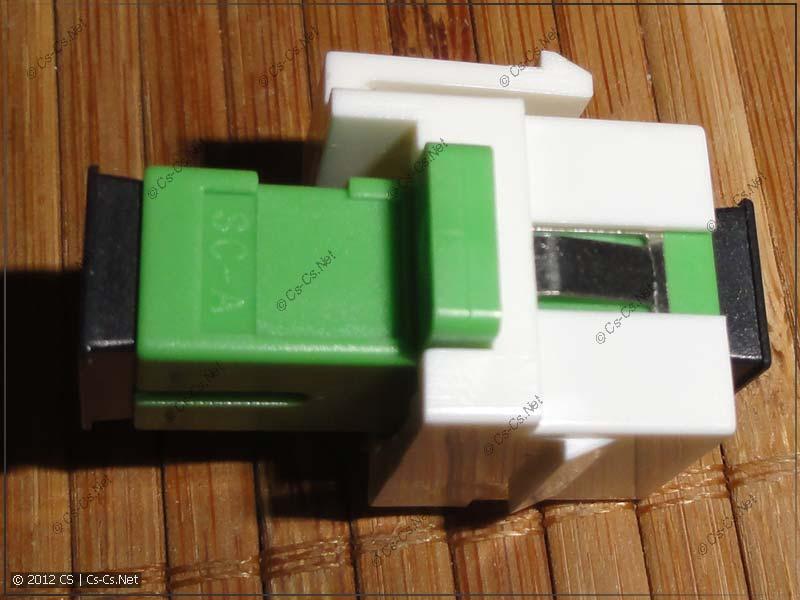 Получаем KeyStone-вариант проходного ападтера для оптики