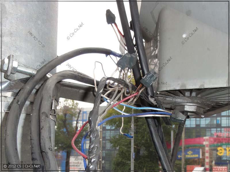 Применение кабеля КВВГ в светофорах