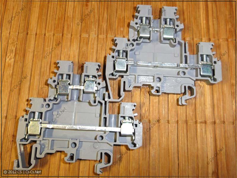 Двухуровневые клеммы ABB M4/6.D2