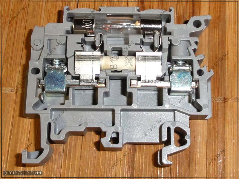 Клеммы ABB с предохранителями M4/8.SF и M4/8.SFL (с подсветкой)