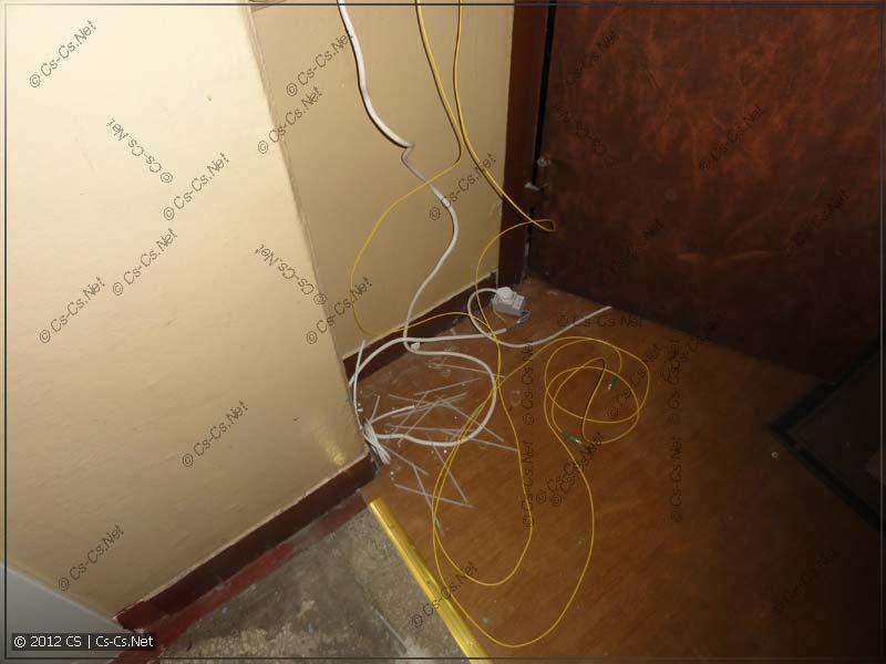 10 метров оптики хватило с огромным запасом