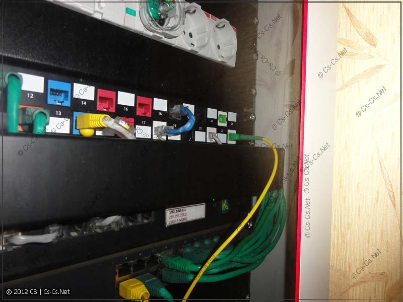 Глубина нового шкафа больше, и дверь не давит оптику