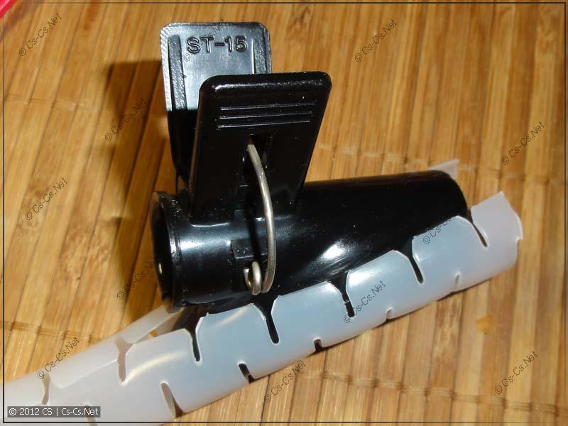 Инструмент для монтажа спирального рукава (идёт в комплекте)