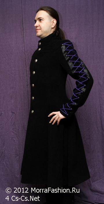 Моё выходное пальто от MorraFashion (шнуровка рукавов)