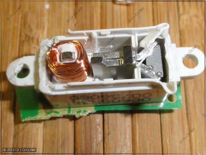 Поляризованный электромагнит для отключения УЗО