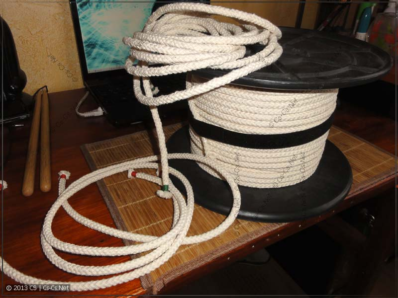 Верёвки для связывания и фетишей
