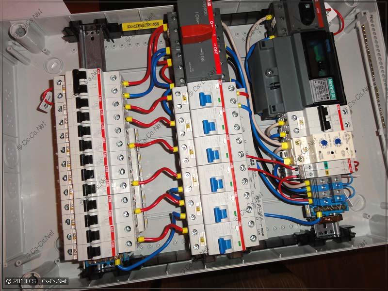 Все соединения сделаны - минимум проводов =)