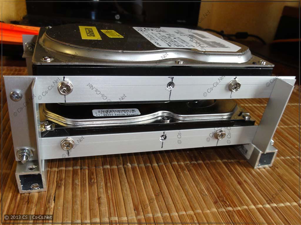 Собираем корзину для жёстких дисков