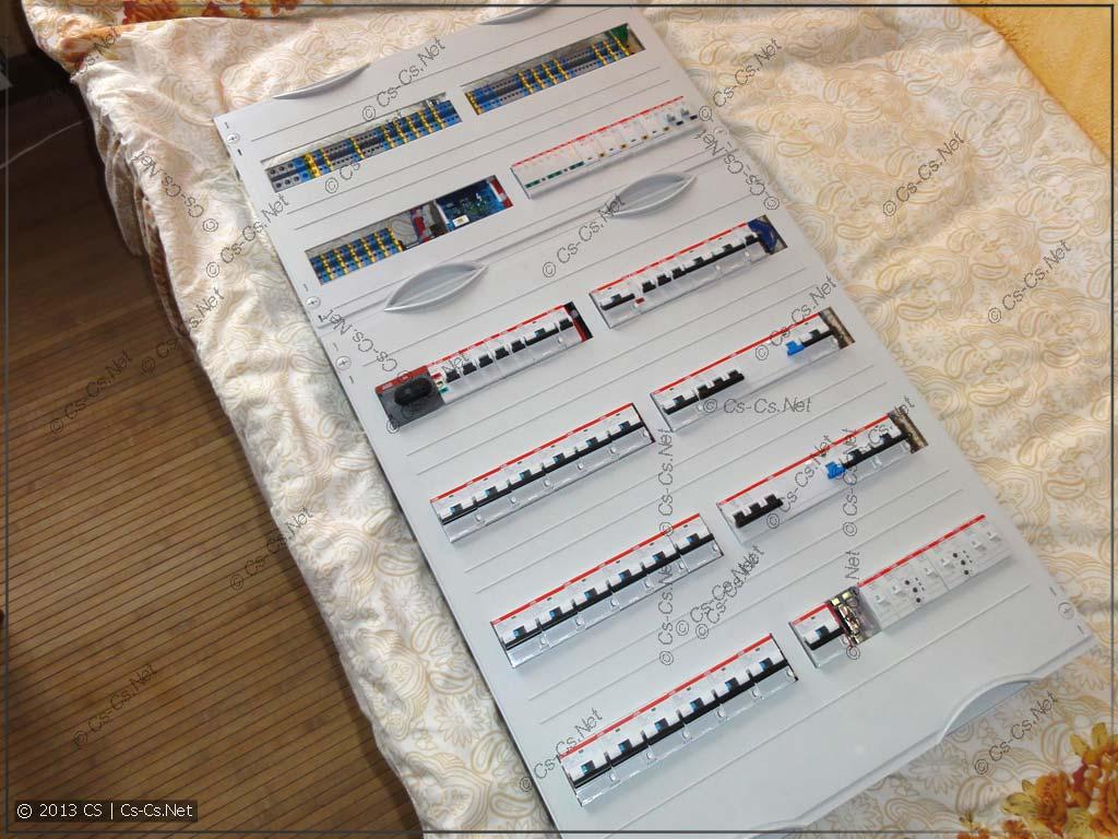 Адски большой щиток на без U62 с небольшой автоматикой