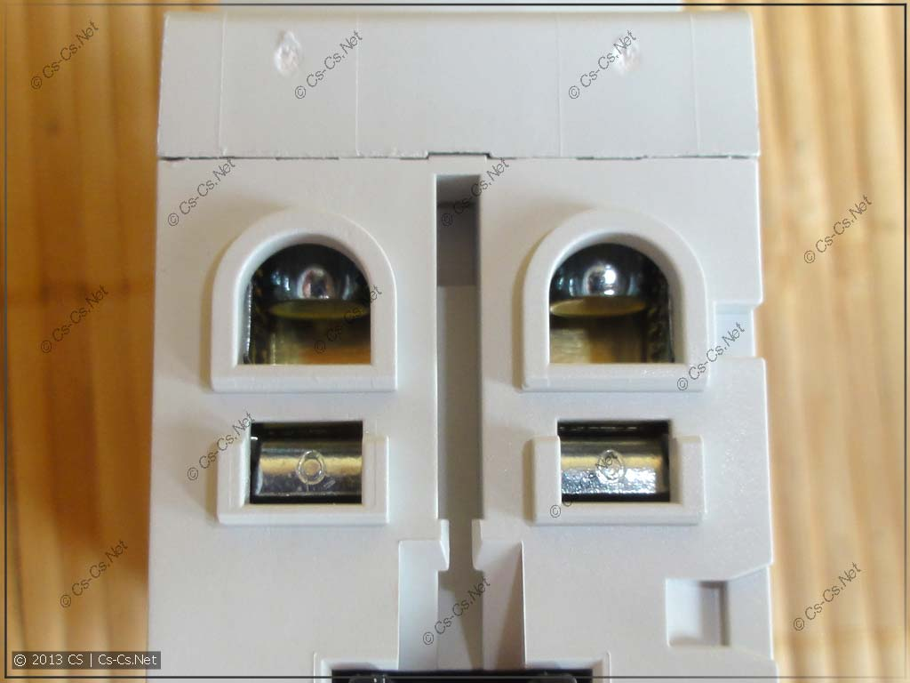 Зажимы дифавтоматов такие же как у УЗО и обычных автоматов