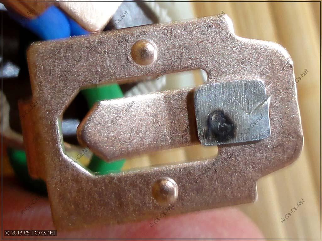 Вторая часть контактов дифавтомата