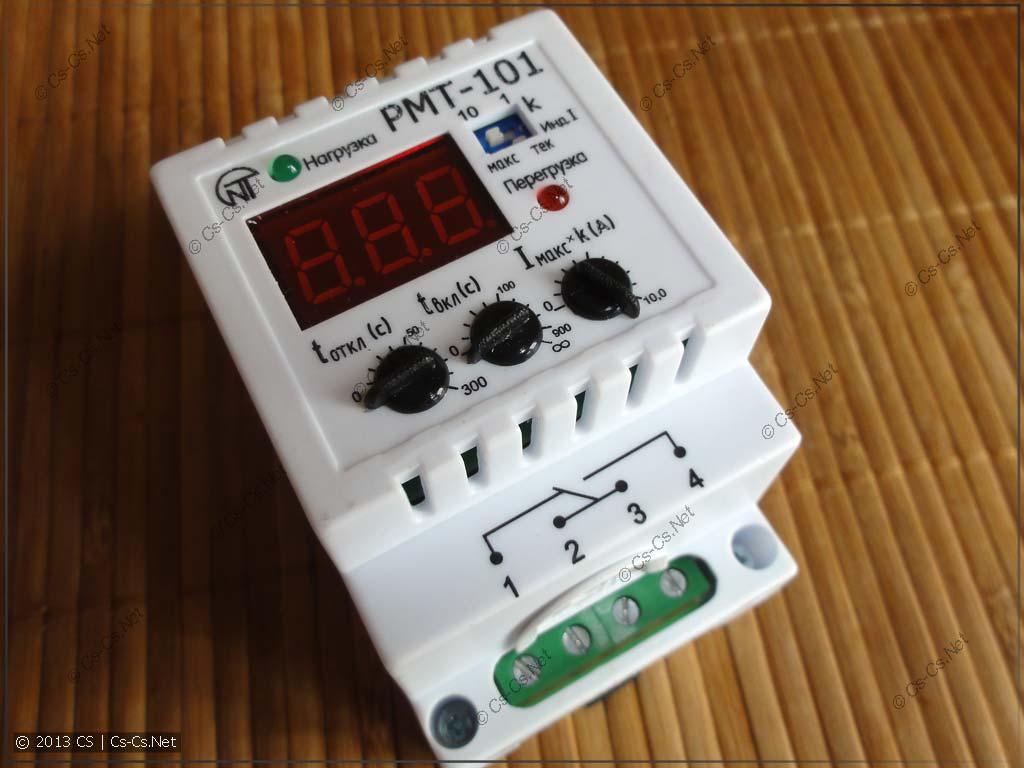Реле максимального тока НоваТек РМТ-101