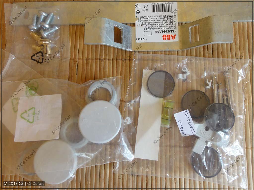 Разные аксессуары и дополнительные приблуды для шкафа