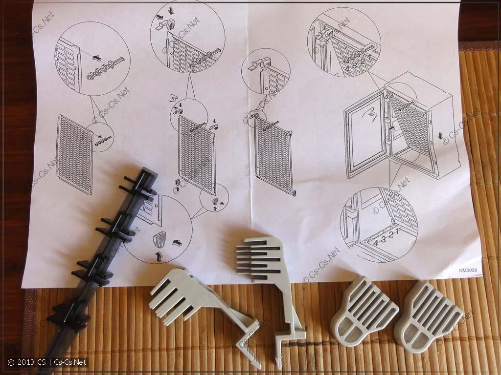 Инструкция по креплению монтажной панели